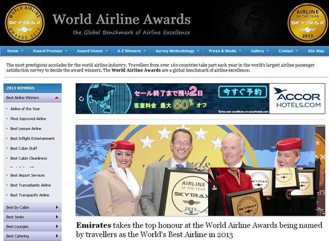 World Airline Awards
